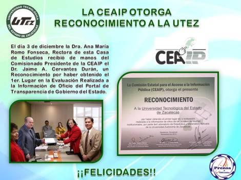 Reconocimiento CEAIP