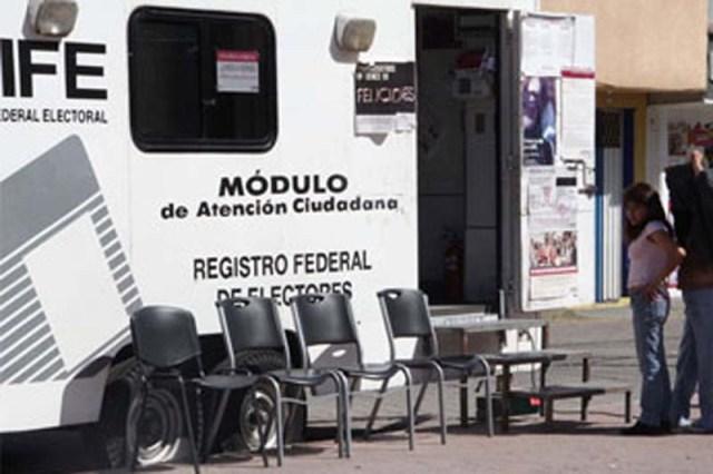 18 Módulos Itinerantes Del Ine Recorren Los Municipios Del